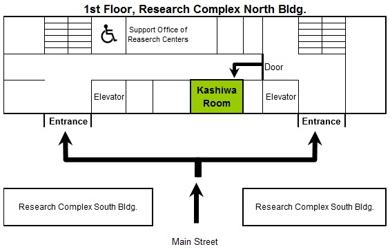 Kashiwa room's map detail