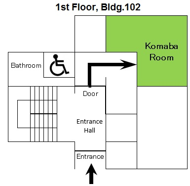 Komaba room's Map